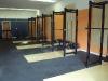 squat racks empty room