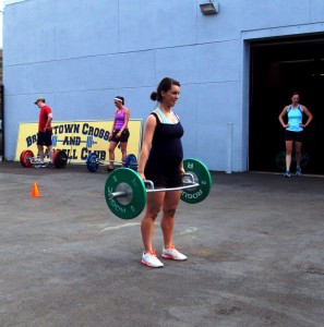CrossFit while pregnant