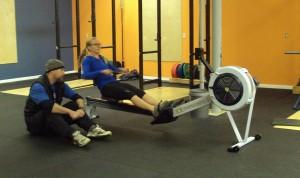 Bridgetown CrossFit Personal Training Rowing