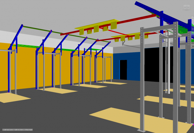 New Pull-up Rig for Bridgetown CrossFit