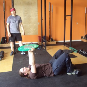 Basic Barbell Bridgetown CrossFit Plate Sit-up