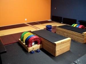 Bridgetown Barbell Club Weightlifting Area