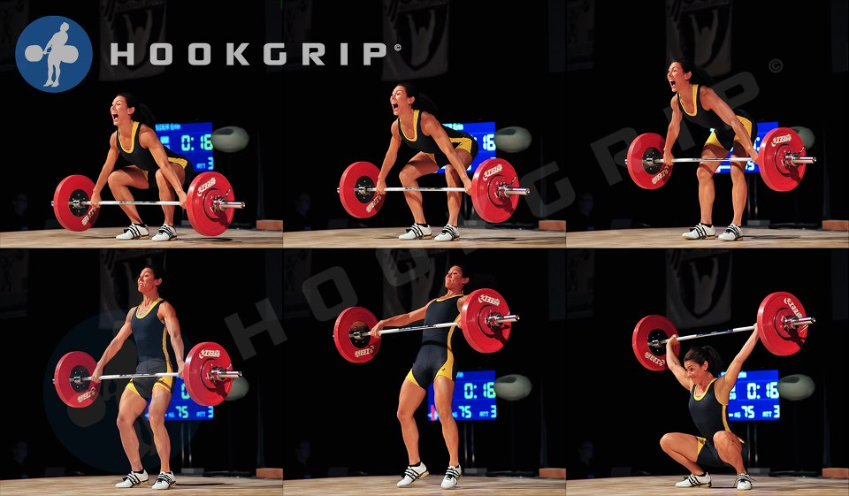 Erin Tieder AO 2012 75kg Snatch Hookgrip