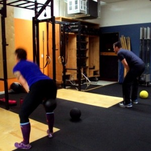 KB Swing Bridgetown Barbell Strength and Conditioning