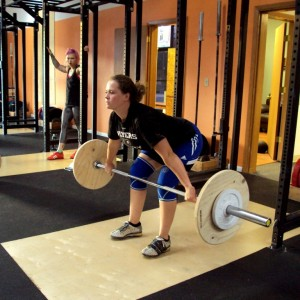Snatch Pause AT knee