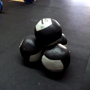 Wall Ball for strength and conditioning